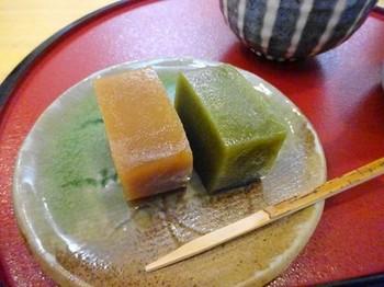 160325山中羊羹舗⑤、喫茶あずき(ういろうセット) (コピー).JPG