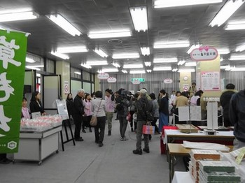 160327鮎菓子食べよー博06、鮎菓子販売会場 (コピー).JPG