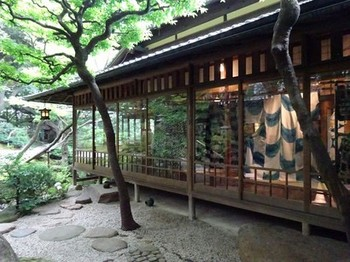 160622爲三郎記念館⑬、庭園と母屋 (コピー).JPG