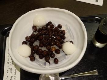 160706京都イオリカフェ②、豆かん(白玉) (コピー).JPG