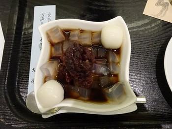 161125京都イオリカフェ④、ミニ白玉あんみつ (コピー).JPG