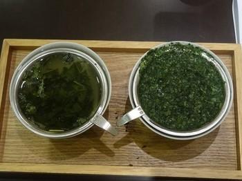 170124茶カフェ深緑茶房お茶教室07、モガ茶と碾茶の抽出 (コピー).JPG
