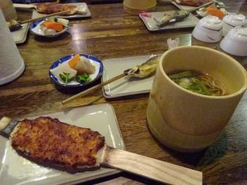 170129ふるさと食の再発見「寒茶」08、桧茶屋で昼食 (コピー).JPG