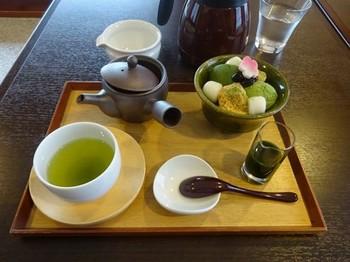 170223茶舗きみくら⑨、抹茶づくし(深蒸し煎茶「華」付き) (コピー).JPG