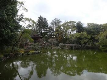 170303九條家遺構「拾翠亭」⑬、高倉橋より (コピー).JPG