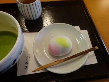170303甘楽花子④、春鶯(薯蕷まんじゅう) (コピー).JPG