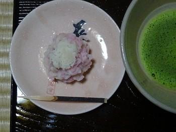 170310東山荘⑪、お抹茶と和菓子 (コピー).JPG