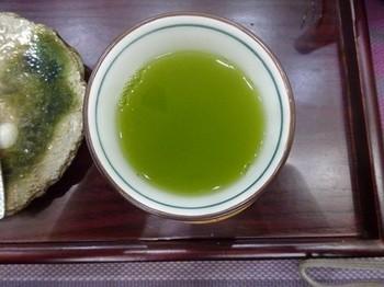 170314香嘉園matcha cafe⑨、2煎目の水色 (コピー).JPG