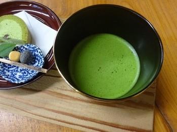 170420西尾めぐり11、葵製茶(お抹茶とお菓子) (コピー).JPG