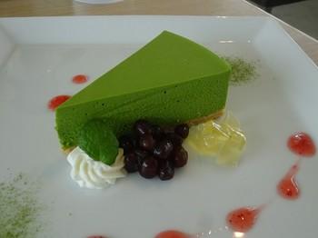 170427サングラム18、抹茶レアチーズケーキ (コピー).JPG