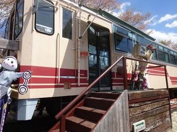170428山岡駅かんてんかん⑥、森の列車カフェ (コピー).JPG