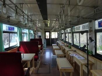 170428山岡駅かんてんかん⑦、森の列車カフェ (コピー).JPG