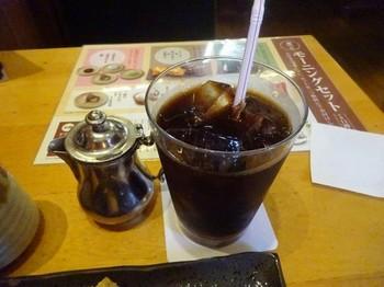 170604おかげ庵葵店⑥、アイスコーヒー (コピー).JPG