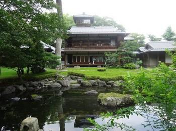 170716旧三井家下賀茂別邸④、母屋と茶室 (コピー).JPG