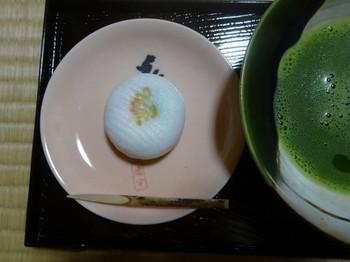 170722東山荘⑪、お抹茶と和菓子 (コピー).JPG