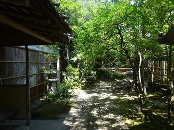 170831旧糟谷邸17、庭園(腰掛待合) (コピー).JPG