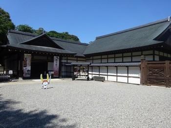 170908彦根城博物館①、外観 (コピー).JPG