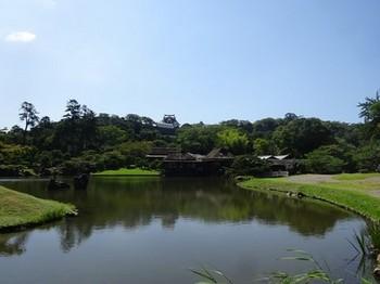 170908玄宮楽々園14、臨池閣と鳳翔台 (コピー).JPG