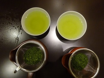 s_171031深緑茶房「お茶教室」⑫、四日市市萬古vs常滑焼.JPG