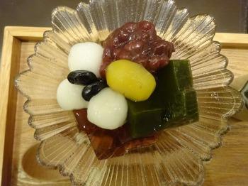 s_171031深緑茶房「お茶教室」⑭、あんみつ.JPG