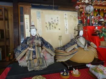 170225足助めぐり34、中馬のおひなさん(115松美屋).JPG