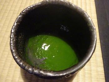 s_171129荒川豊蔵作陶の地11、豊蔵作瀬戸黒茶碗.JPG