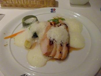 s_180613ポール・ボキューズ名古屋⑤、錦爽鶏胸肉のロースト.JPG