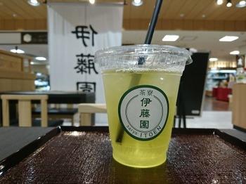 s_180703伊藤園茶寮名鉄百貨店、アイス煎茶.JPG