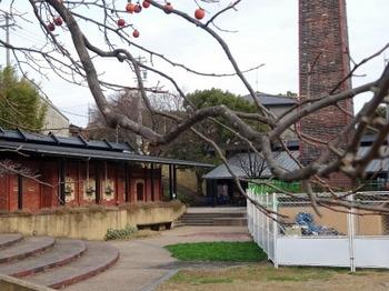 s_181207INAXライブミュージアム05、窯のある広場・資料館(工事中).JPG