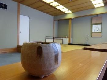 s_190122美濃焼ミュージアム05、加藤孝造「黄瀬戸茶盌」.JPG