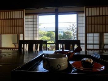 s_190124角打ち茶屋12、煎茶(おくみどり)セット.JPG