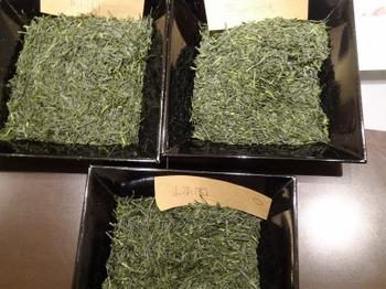 s_190129深緑茶房「お茶教室」04、朝宮茶飲み比べ.JPG