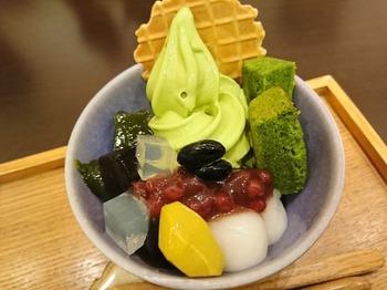 s_190226深緑茶房「お茶教室」07、和みパフェ.JPG