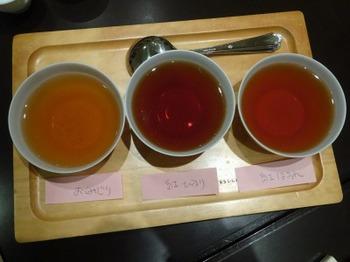 s_190327深緑茶房お茶教室04、3品種の飲み比べ.JPG