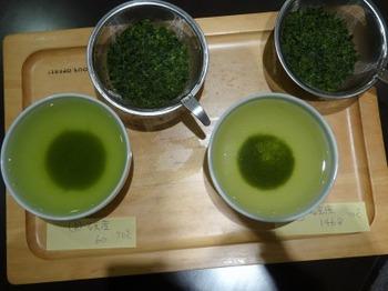 s_190416深緑茶房「お茶教室」03、水質(軟水・硬水)×和紅茶.JPG