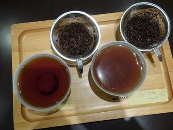 s_190416深緑茶房「お茶教室」04、水質(軟水・硬水)×和紅茶.JPG