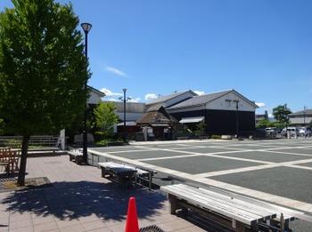 s_190726奥の細道むすびの地記念館01、芭蕉館と先賢館.JPG