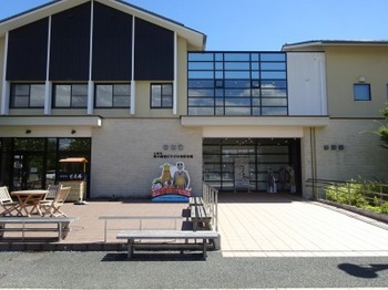 s_190726奥の細道むすびの地記念館02、観光・交流館.JPG